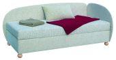 Čalouněná postel - jednolůžko ASTRA c čely